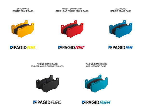 Pagid Brake Pad Compounds